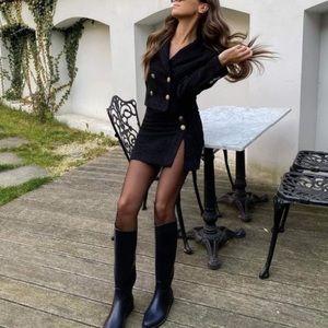 Zara Tweed Mini Skirt.